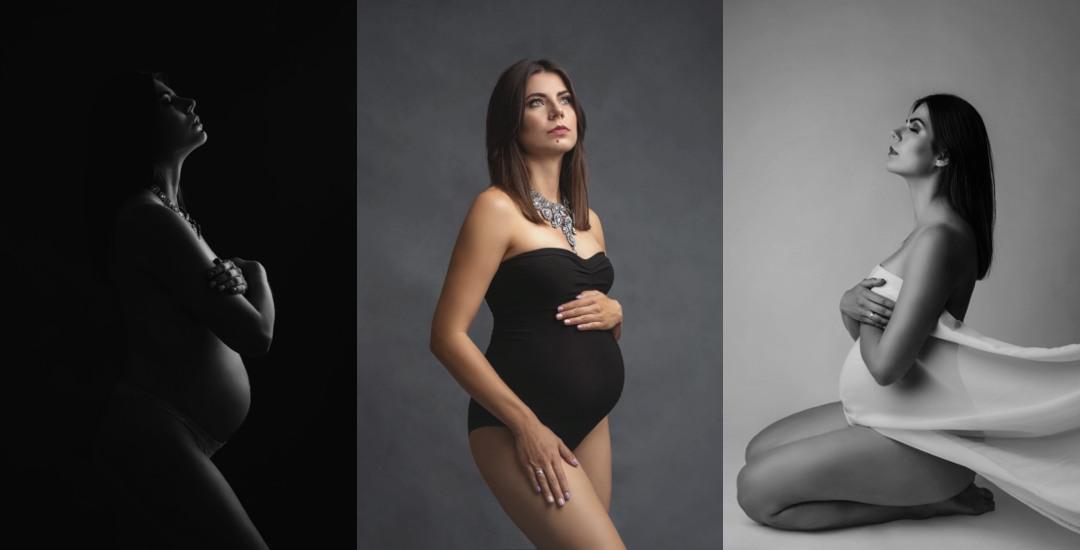 Minimalistyczna sesja ciążowa